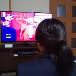テレビ設置&懐かしい写真