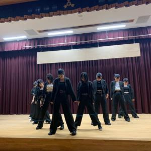 ダンス部、最後のお披露目
