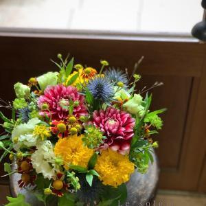 退職お祝いにお花のプレゼント