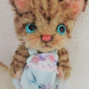 ちびシマトラ猫ちゃん(●´ω`●)…オトドケシマシタ~♬