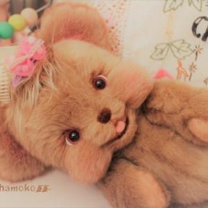 抱っこ大好き!笑顔いっぱいな亜麻色ぷくちゃん💖…オトドケシマシタ~♬
