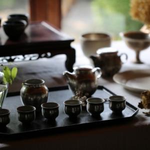 ギャラリーでお茶会