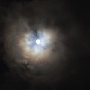 満月と幻月