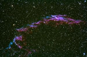 網状星雲(NGC6992)はくちょう座