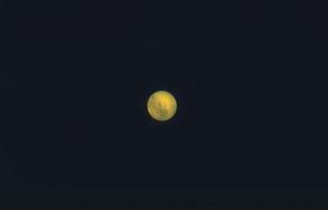 10月11日夜半過ぎの火星 画像処理完