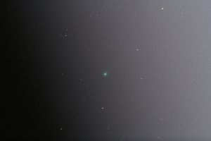 今朝のエラスムス彗星(C/2020 S3)