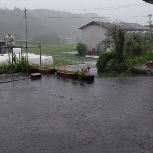 大雨警報と土砂災害レベル3