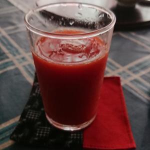 至福の味 手作りの『トマトジュース』