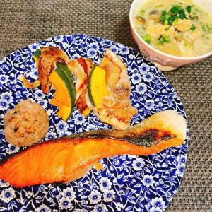 ダイエットごはん☆51.9kg ごま味噌スープと塩抜き☆