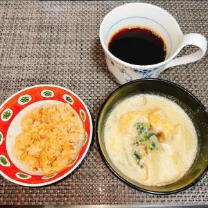 ダイエットごはん☆51.9kg 塩鮭ととろろ蕎麦☆