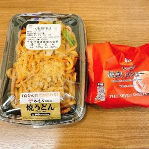 ダイエットごはん☆52.3kg 焼うどんと餃子☆