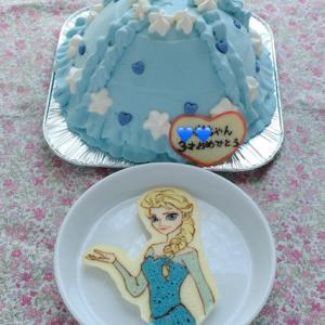 バースデーケーキ2台