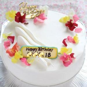 次男18才のバースデーケーキ