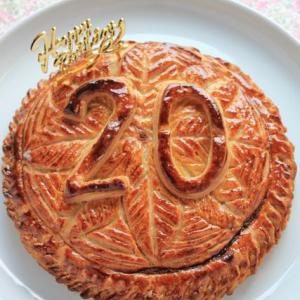 長男二十歳のバースデーケーキ