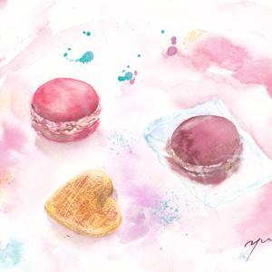 9月水彩色えんぴつ教室「DALLOYAU」