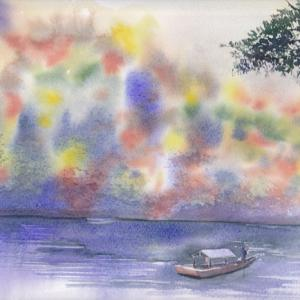 イベントのお知らせ~西宮の秋をデモンストレーションで描きます。in西宮阪急