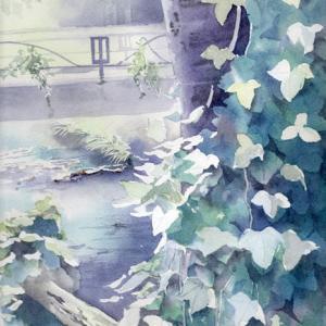 7月 透明水彩「夏の午後」