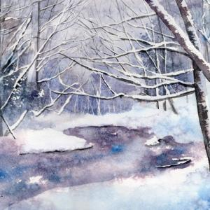 1月 透明水彩「静寂」産経学園
