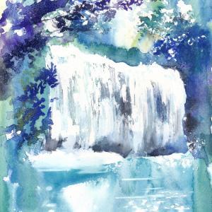 8月20日オンライン講座「滝を描く」