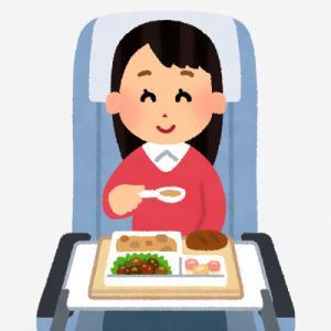 ワイが乗った中国国際航空のエコノミークラスの機内食ww