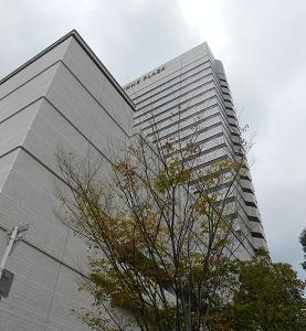 宿泊は「ANAクラウンプラザホテル大阪」