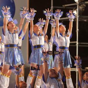 第66回よさこい祭り 前夜祭 サニーグループよさこい踊り子隊SUNNYS その1