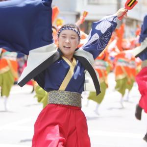 第66回よさこい祭り 本番1日目 愛宕競演場 祭屋-Saiya-よさこい踊り子隊 その2