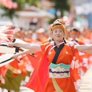 第66回よさこい祭り 本番1日目 上町競演場 祭屋-Saiya-よさこい踊り子隊 その1