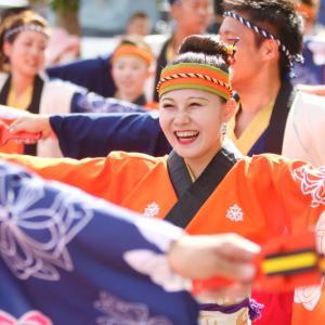 第66回よさこい祭り 本番1日目 上町競演場 祭屋-Saiya-よさこい踊り子隊 その2