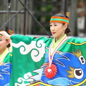2019よさこい全国大会(第66回よさこい祭り) 高知城会場 とらっくよさこい(ちふれ) その3
