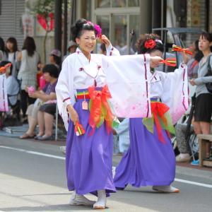 第61回よさこい祭り 本祭2日目 愛宕競演場 ひとひら