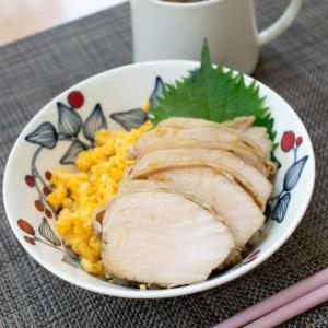 簡単な丼にお味噌汁(アマノ)☆お買い物マラソン続き