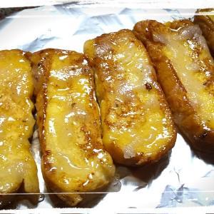 手作りおやつ♪飴かけフレンチトースト