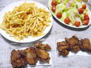 テイクアウトde晩ごはん&先週のお弁当(2日分)