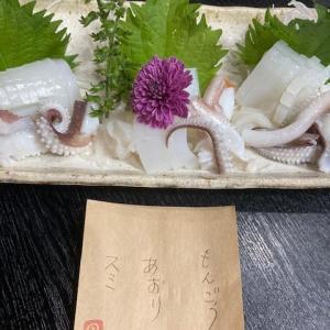 イカ刺身3種盛り