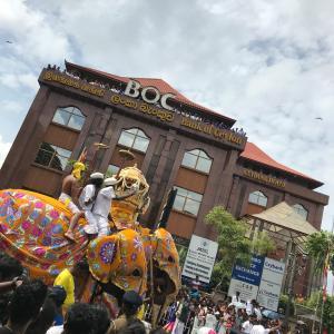 スリランカ旅行02~ぺラヘラ祭~