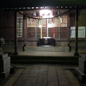 宿赤城神社祭礼、神輿磨き