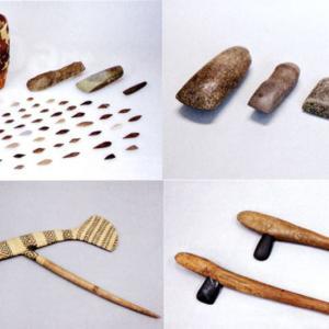 平成28年11月23日まで、石斧と人の3万年紹介