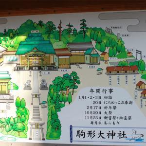 にらめっこおびしゃ、駒形大神社