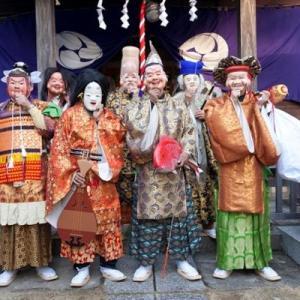 鰭ケ崎雷神社おびしゃ行事