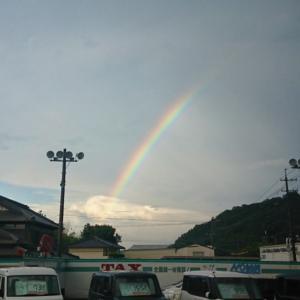 お空に発見(o・ω[+]