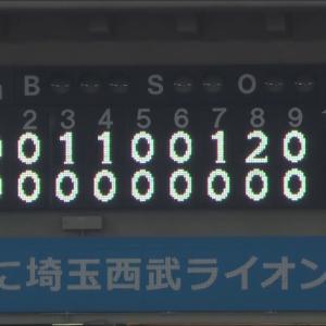 今季初の継投で完封!!岩下ー小野ー千隼ー東妻 いいね!!!