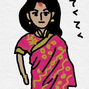 +インドの女性を見て・・・+