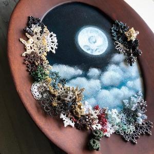 gallery hydrangea企画展『黒く霞む刻』出展作品完成しました。