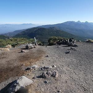 北横岳と縞枯山を歩いてきました。