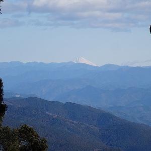 本宮山を歩いてきました。