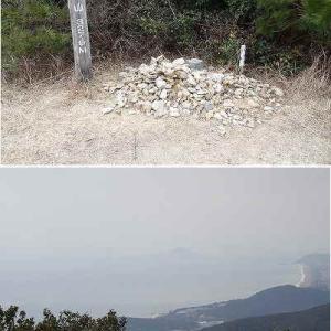 大山を歩いてきました。