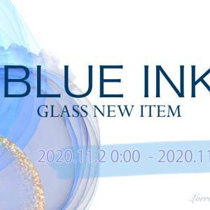 ☆NEW☆ガラス用ブルーインクのご紹介♪♪