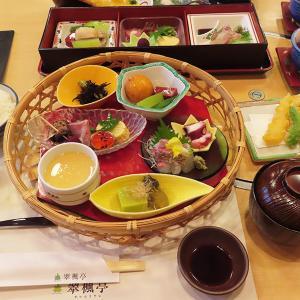 神戸、三宮「翠楓亭」-有馬温泉の日本料理店、期間限定ランチ☆