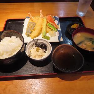 神戸、三宮 「海鮮居酒屋 海流」-天ぷら定食☆